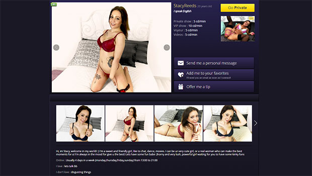 Camgirl England (UK)