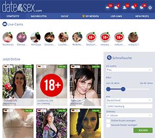 Date4Sex Startseite