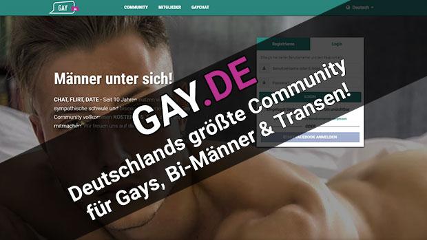 Gay.de Community für Schwule