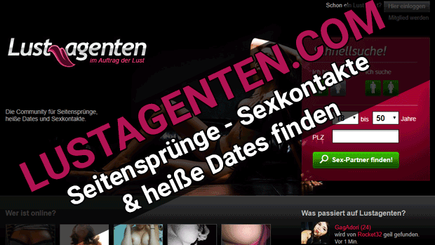 Lustagenten Dating-Community