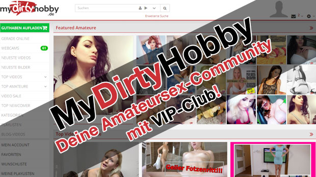 MyDirtyHobby Amateursex-Community