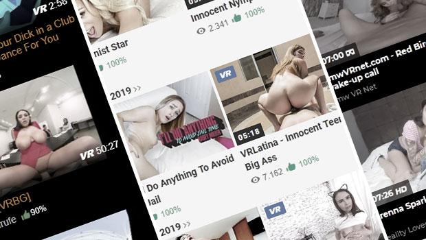 VR Pornos bei PornHub, xHamster & PornDoe