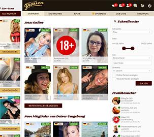 ReifeFrauen.com Startseite
