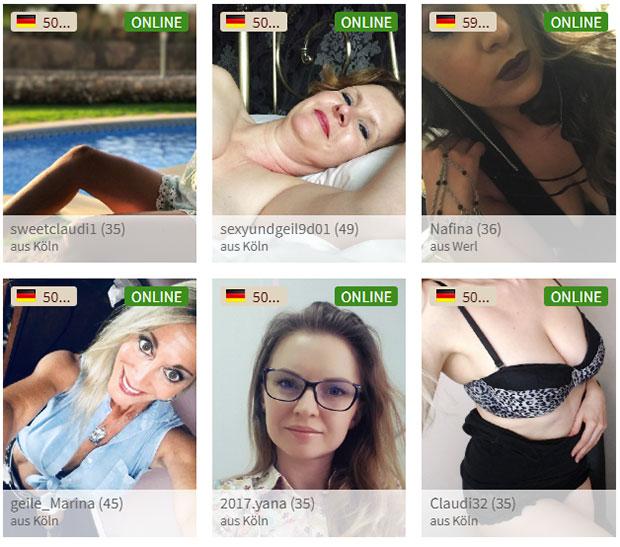 Sex-Kontakte ReifeFrauen.com