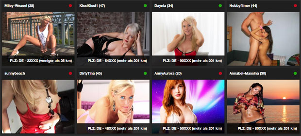 Top Amateure bei Privatporno
