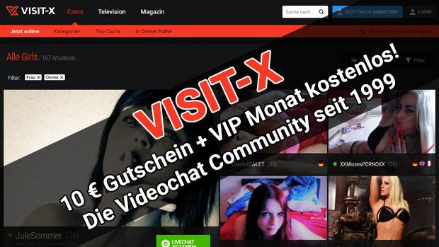 VISIT-X Amateur Videochat