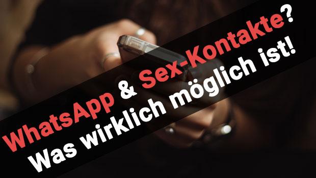 WhatsApp Sexkontakte
